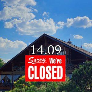 14.09 ресторан не працює